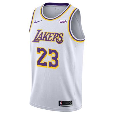 adult lebron james lakers jersey