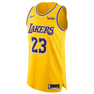 authentic lebron black lakers jersey