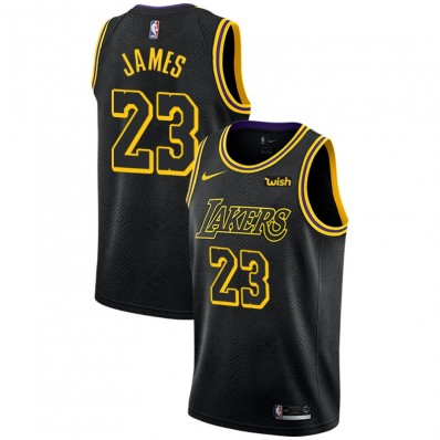 black and gold lebron james lakers jersey
