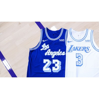 blue los angeles jersey lakers