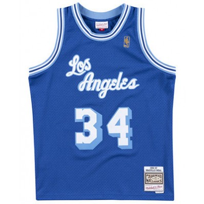 blue los angeles lakers jersey