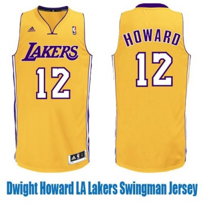 dwight howard lakers jersey number