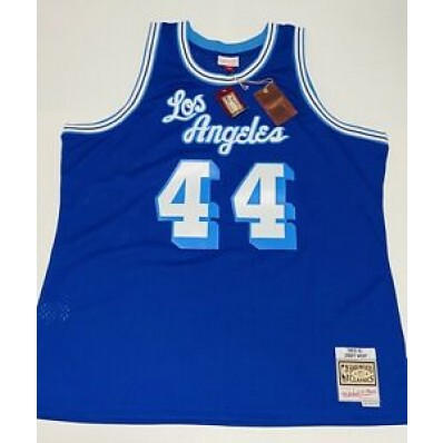 jerry west lakers jersey