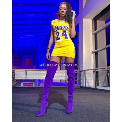jersey dresses for women nba lakers