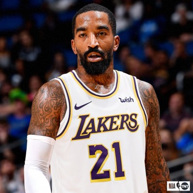 jr smith jersey lakers