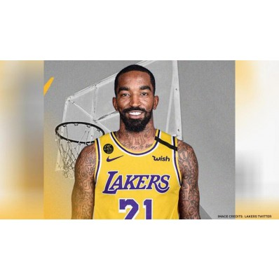 jr smith lakers jersey