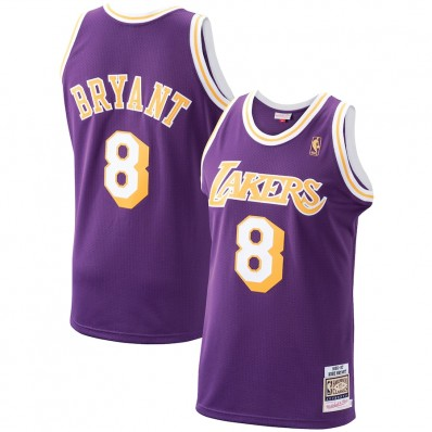 kobe bryant #8 '96-'97 authentic los angeles lakers nba jersey