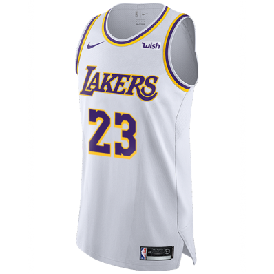 lakers authentic jersey