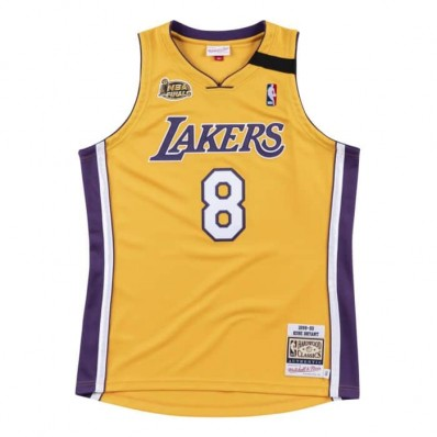 lakers authentic jersey men