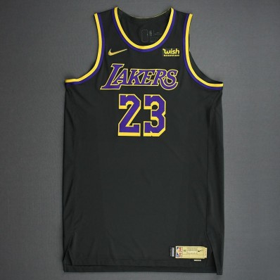 lakers game jersey with lebron james name on jersey