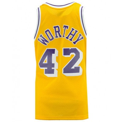 lakers james worthy jersey