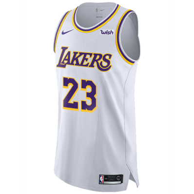 lakers jersey authentic