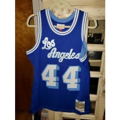 lakers jersey blue jerry west