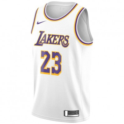 lakers jersey white james