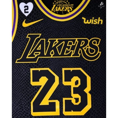 lakers jersey with kobe patch