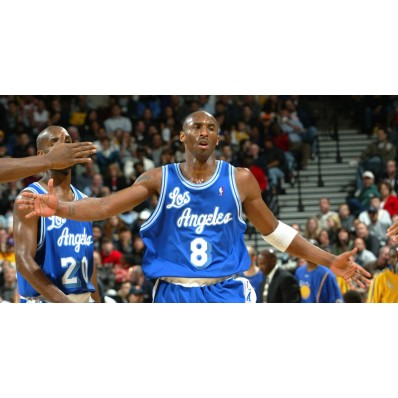 lakers throwback jersey