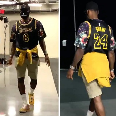 lebron james lakers finals jersey