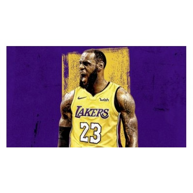 lebron james lakers home jersey