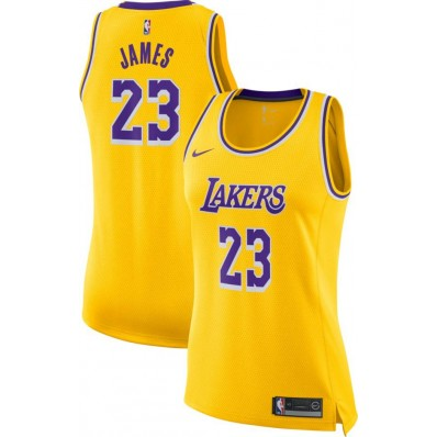 lebron james lakers jersey for women