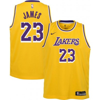 lebron james lakers jersey gold