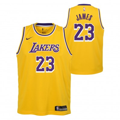 lebron james lakers jersey size 14