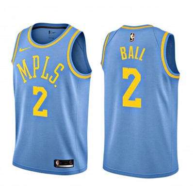 lonzo ball lakers jersey for sale