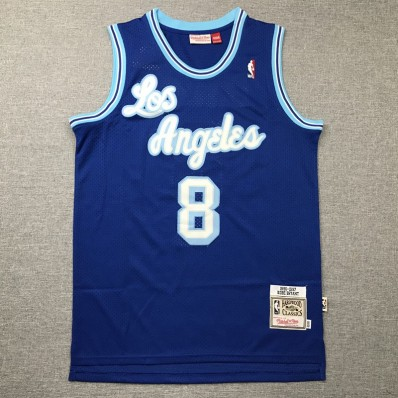 los angeles lakers blue jersey