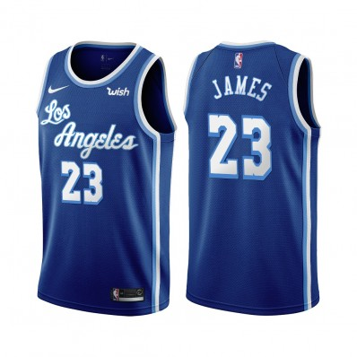los angeles lakers blue jersey lebron