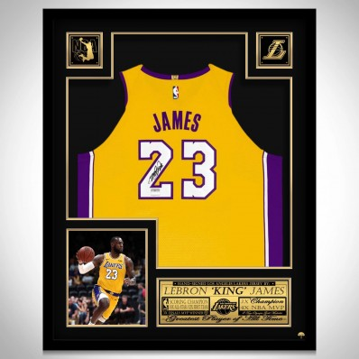 los angeles lakers frame for jersey