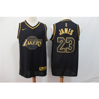 los angeles lakers jersey nike golden edition