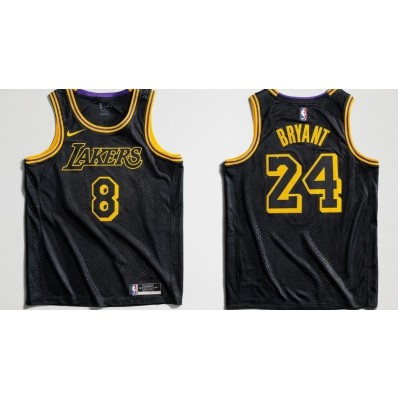 los angeles lakers kobe bryant mamba special edition jersey