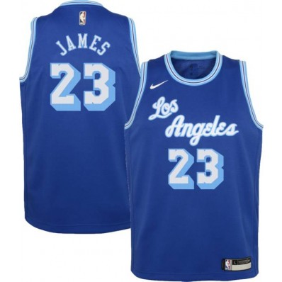 mens lebron james baby blue lakers jersey