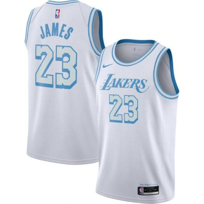 nike lakers jersey city edition