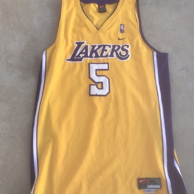 robert horry lakers jersey