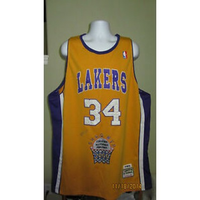 shaquille o'neal jersey lakers 5xl