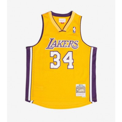 shaquille o'neal jersey lakers boys