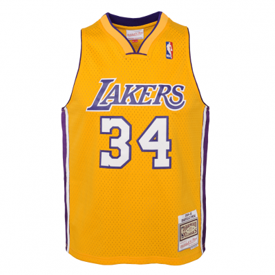 shaquille o'neal jersey youth lakers