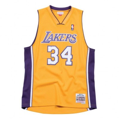 shaquille o'neal lakers jersey men