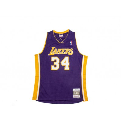 shaquille o'neal lakers jersey purple