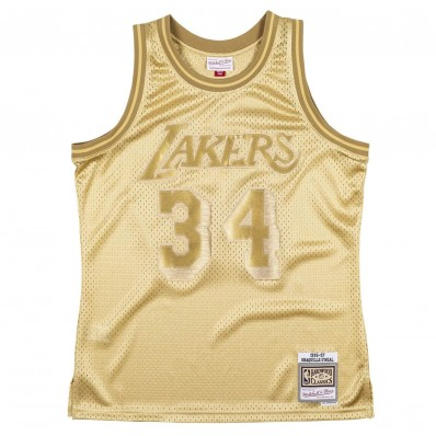 shaquille o'neal's lakers jersey throwback