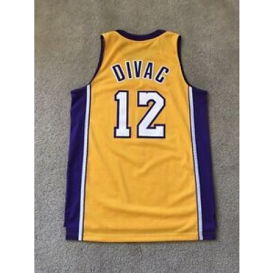 vlade divac lakers jersey