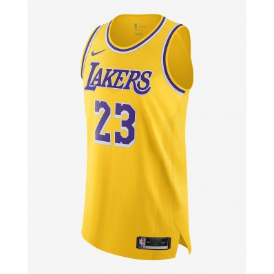 yellow nba jersey for lakers