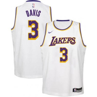 youth anthony davis lakers jersey
