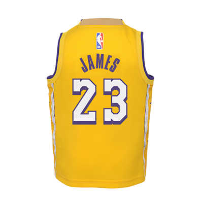 youth kids 23 lebron james los angeles lakers jersey